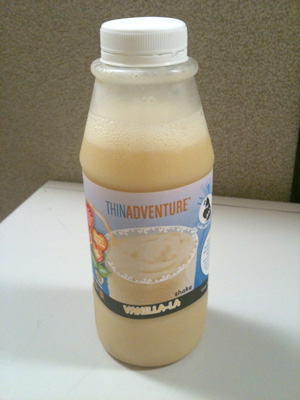 vanilla-la shake